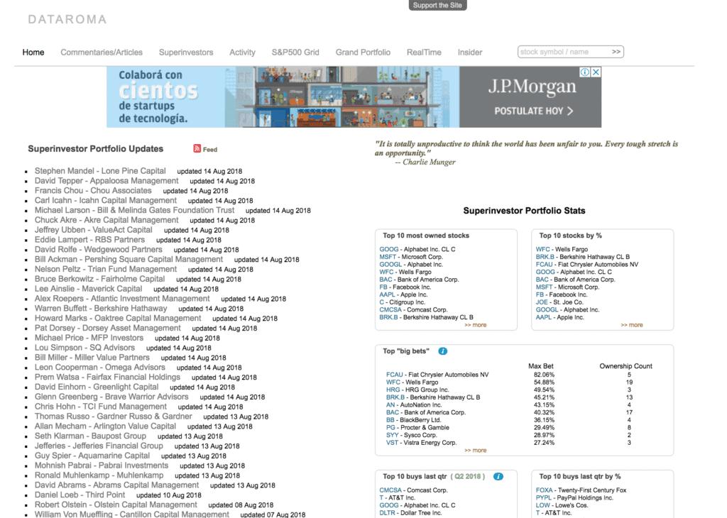 dataroma.com